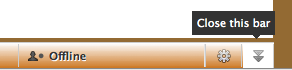 closing chatbar
