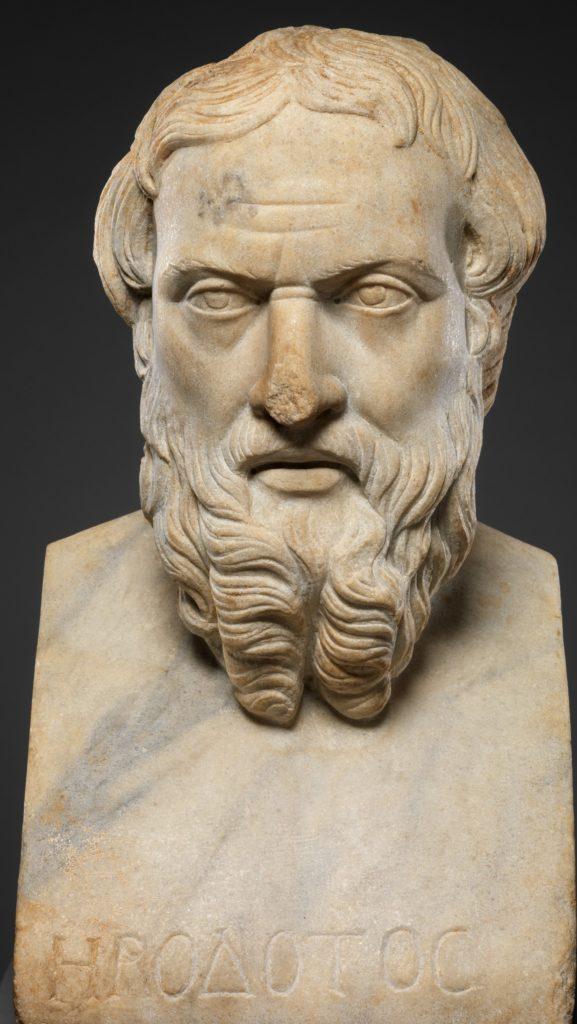Roman bust of Herodotus