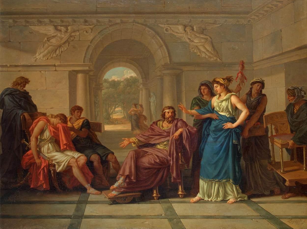 Lagrenée Helen Recognizing Telemachus