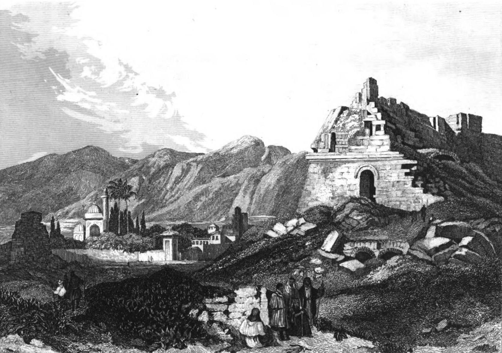 Miletus by Adrien Egron 1837