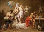 Venus Ordering Arms from Culcan for Aeneas