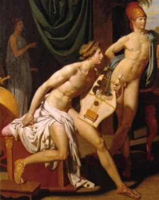 Achilles with lyre