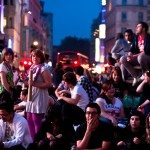 The Piccadilly Crowd