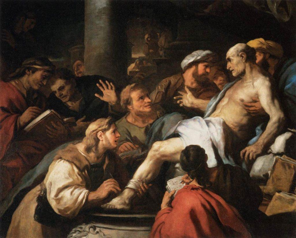Death of Seneca: Luca Giordano