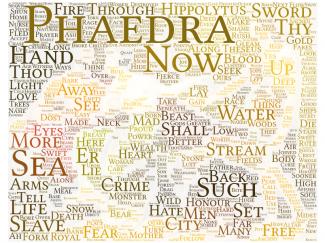 Word Cloud Phaedra