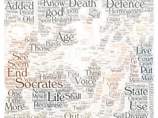 Wordcloud Socrates
