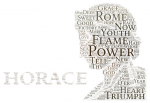 Word cloud: Horace