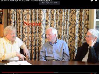 Nagy, Frame, Muellner, discussing Nestor
