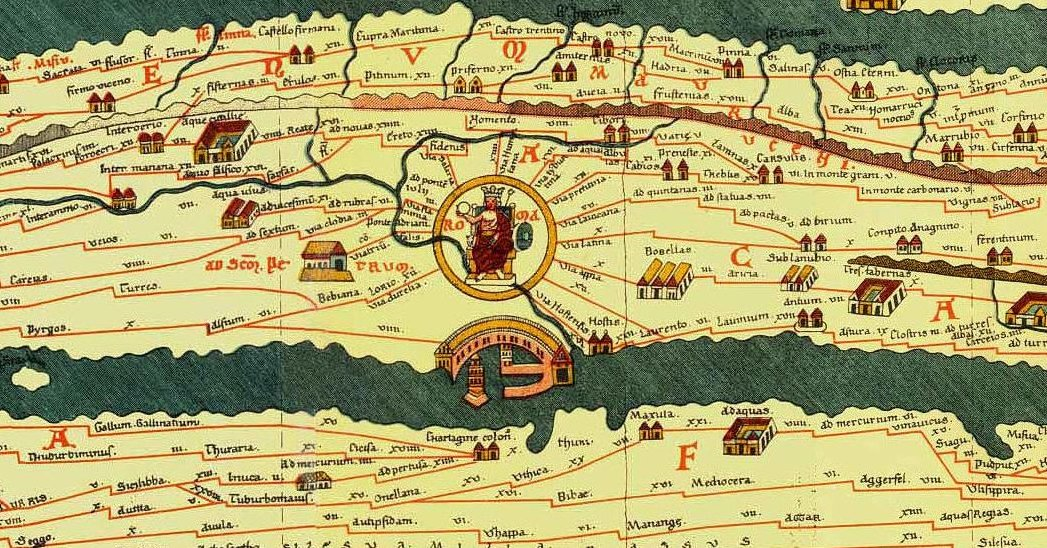 Roman Geography Do All Roads Lead To Rome The Kosmos Society