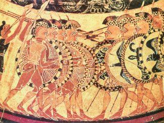 Hoplites: Chigi Vase