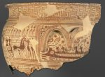 Dipylon vase fragment with ship