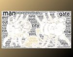 Seven Against Thebes wordcloud