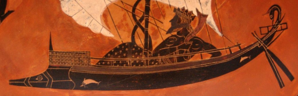 Detail of ship