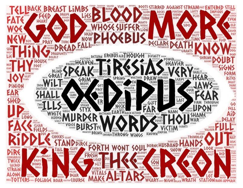 wordcloud Oedipus