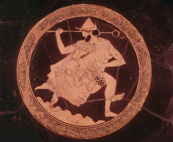 Hermes with lyre