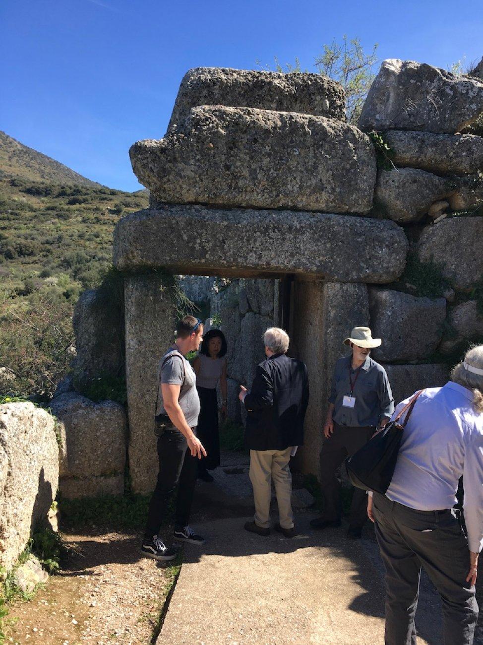 Back gateway Mycenae