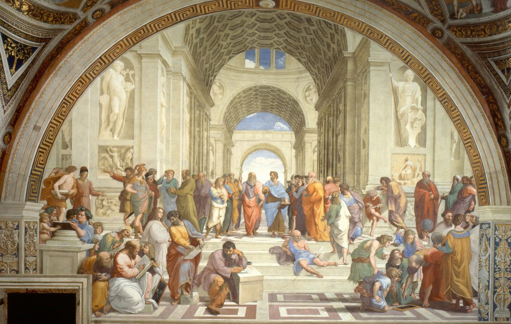 Painting: Rafael, the School of Athens