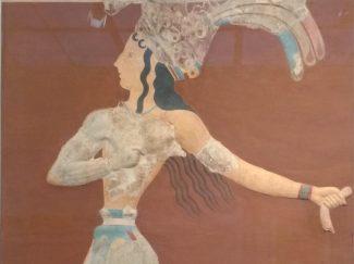 Prince of the Lilies fresco