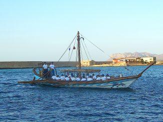 Replica ship 'Minoa'