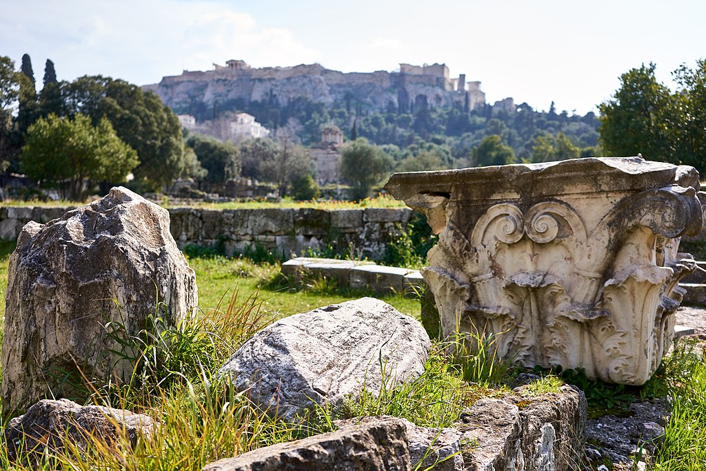 Ruins of Athenian Agora