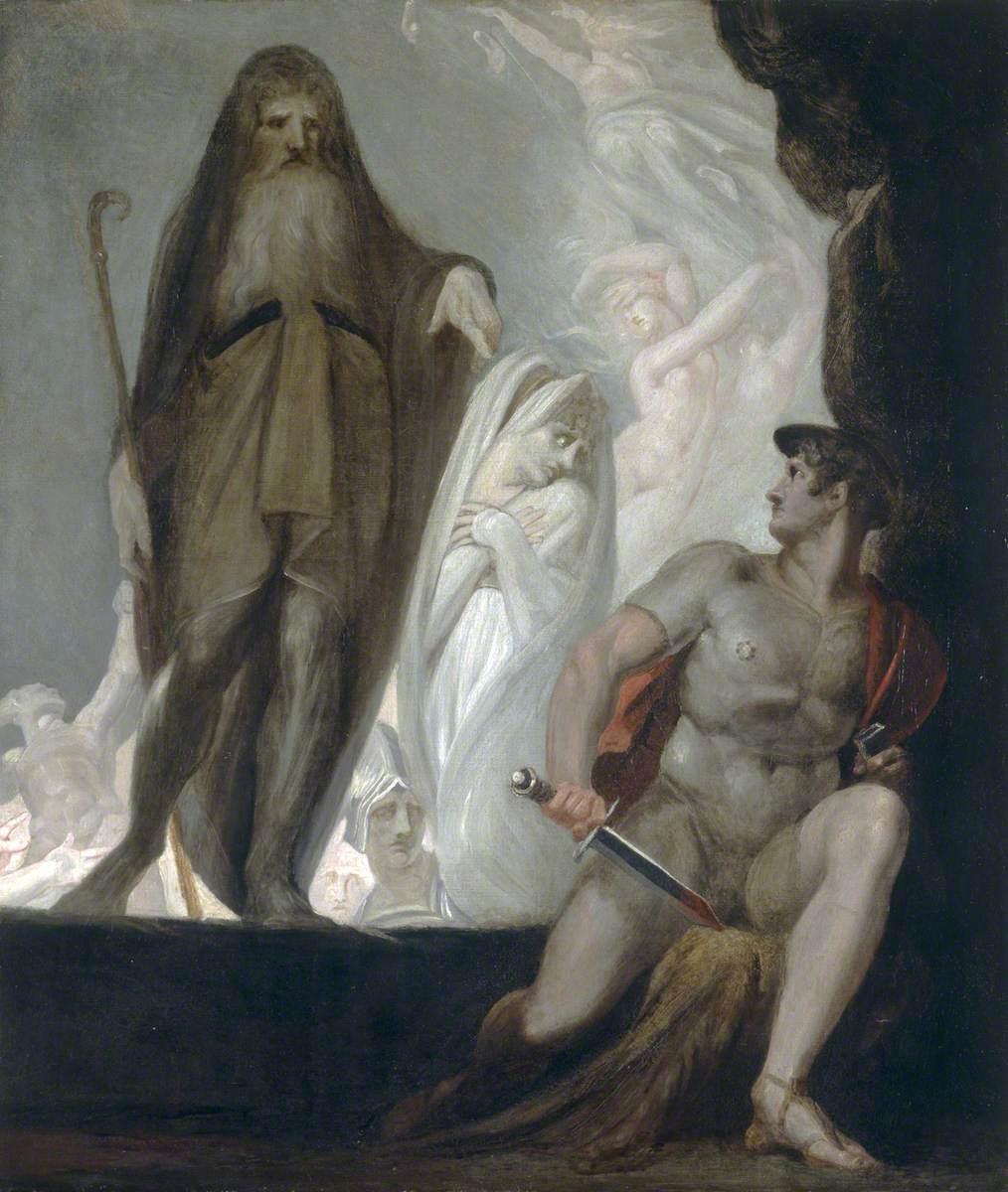 Teiresias, Antikleia, Odysseus