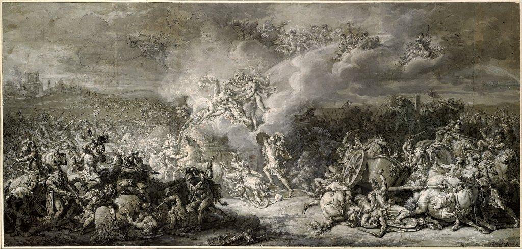 Diomedes in battle