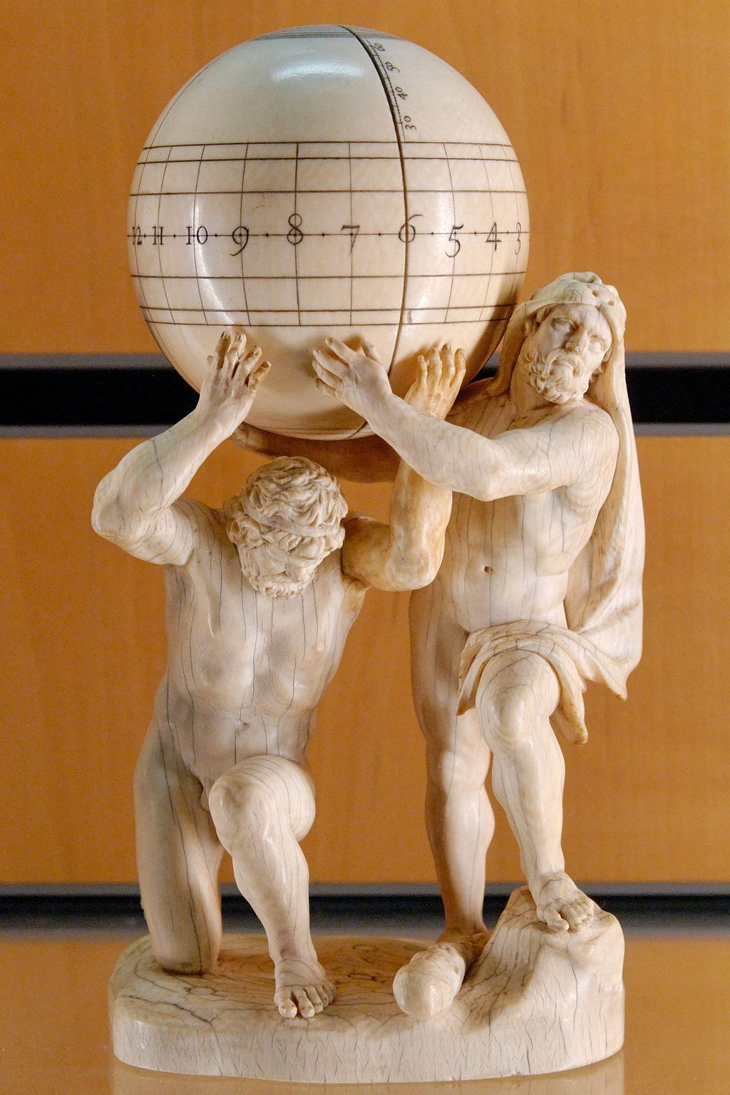 Atlas and Herakles