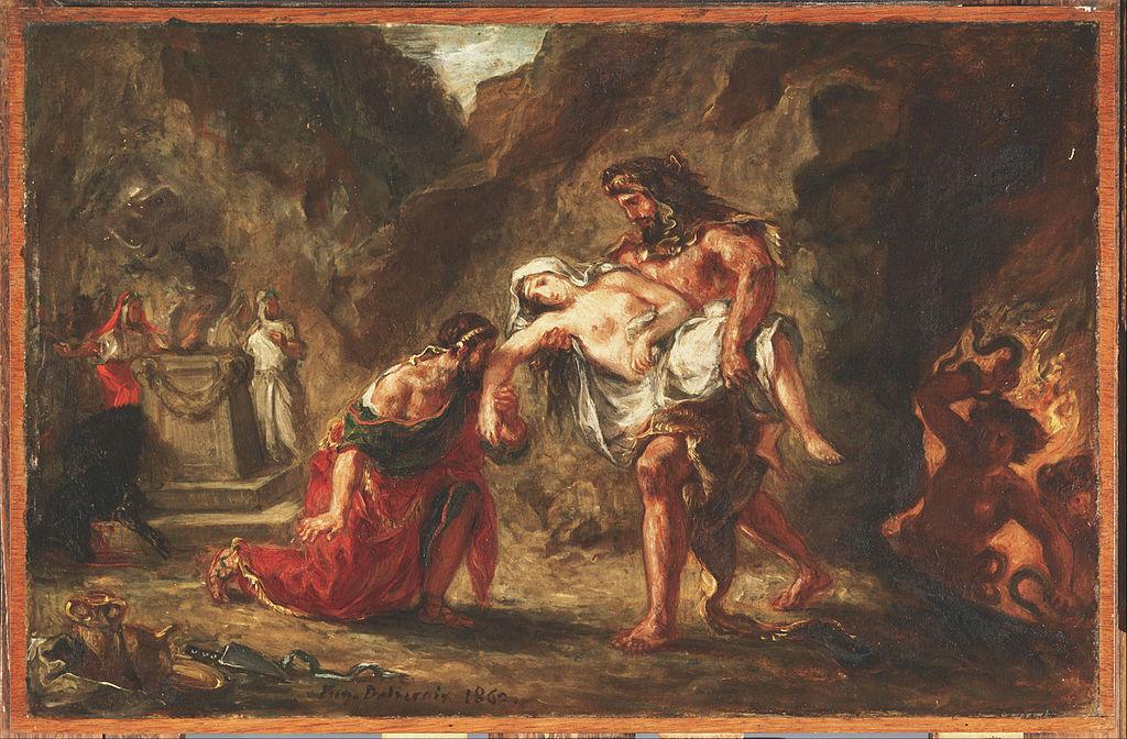 Herakles and Alcestis