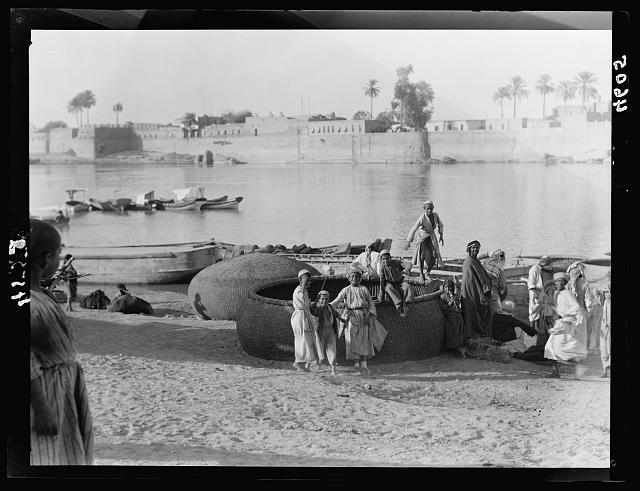 River scenes of Tigris