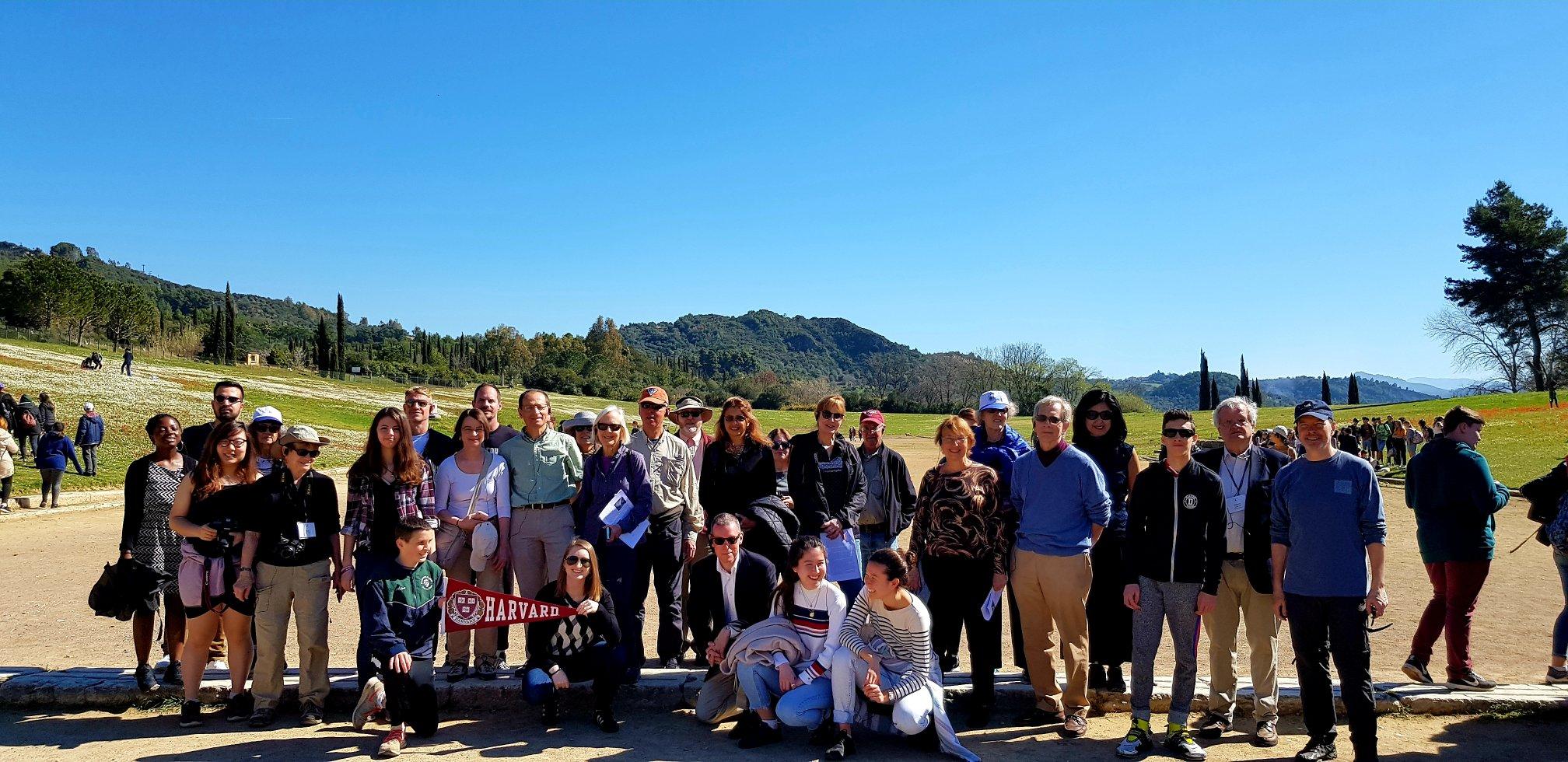 Members of the Spring Break trip
