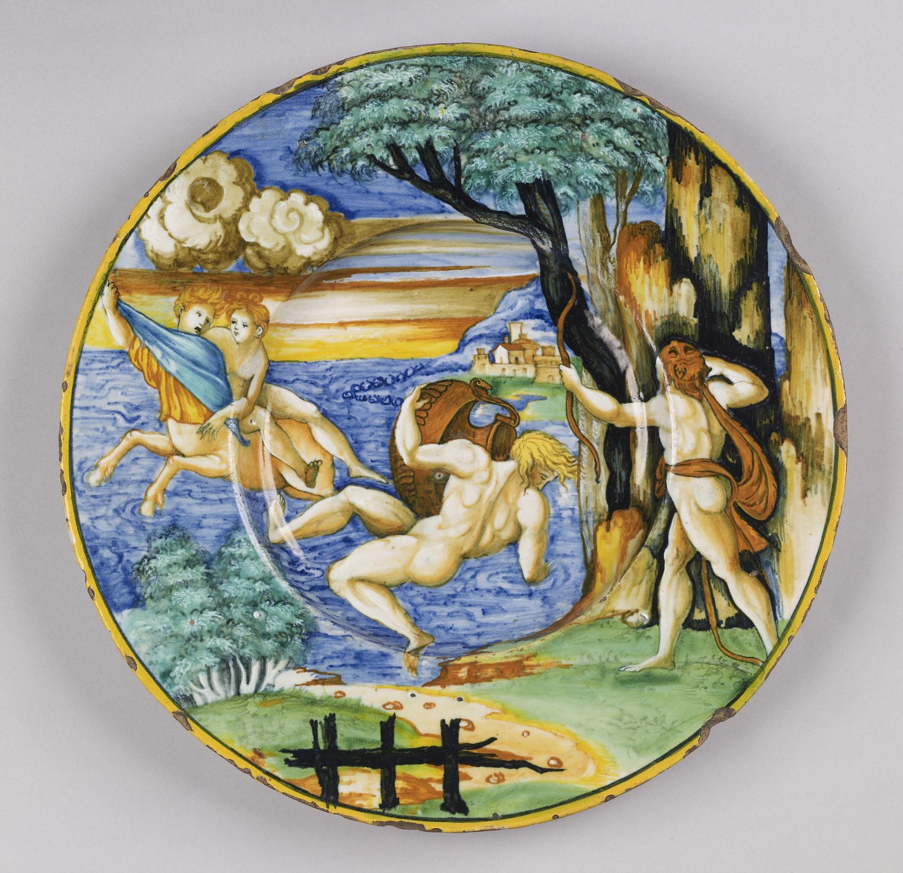 Hercules, Nessus and Deianira