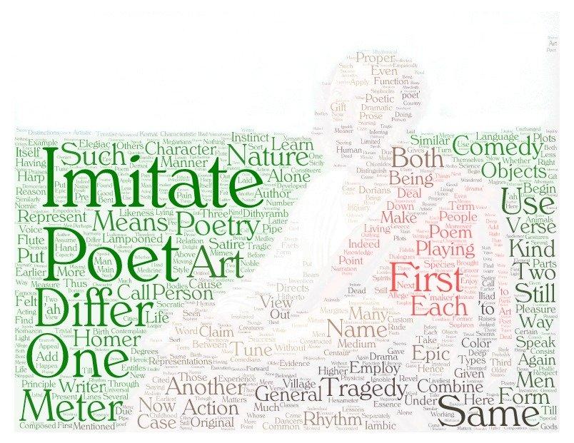 Wordcloud: Poetics