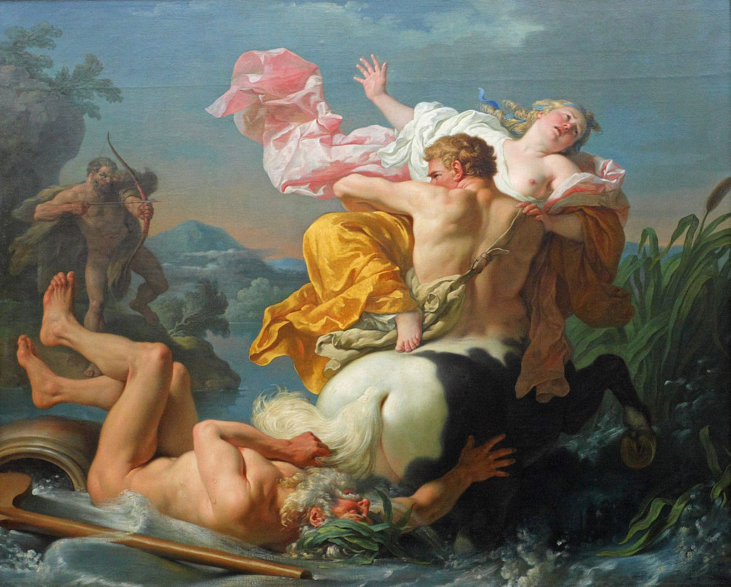 Abduction of Deianeira by Nessus