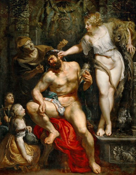 Rubens: Hercules and Omphale