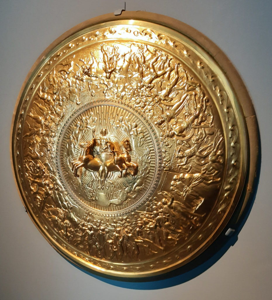 Gilded silver Shield of Achilles