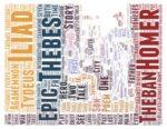 Wordcloud Homer's Thebes