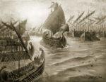 Kimon takes command of the Greek fleet