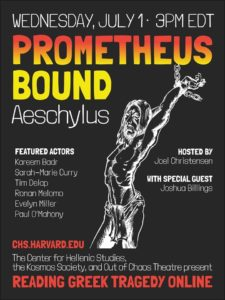 Reading Greek Tragedy Prometheus Bound