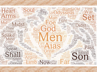 Fall of Troy Book 5 wordcloud