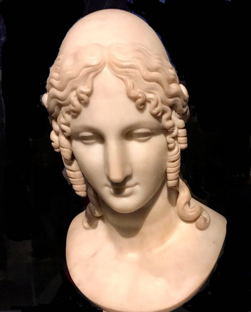 Bust of Helen of Troy, Antonio Canova, 1812.