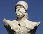 Bust of Kimon, Larnaca, Cyprus