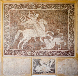 Mosaic of Bellerophon and Chimaira