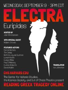 Reading Greek Tragedy Online Electra