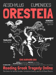 Reading Greek Tragedy Online Oresteia Eumenides