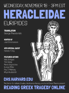 Reading Greek Tragedy Online Heracleida