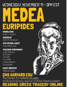 Reading Greek Tragedy Online Medea