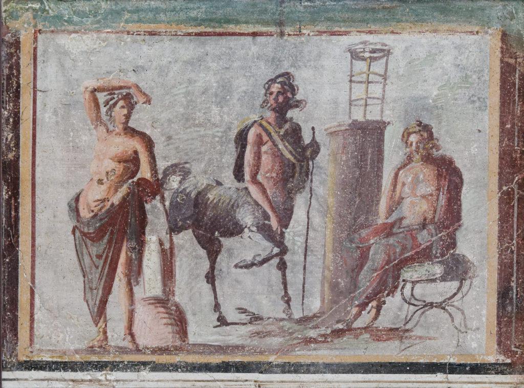 Apollo, Chiron, and Asklepios