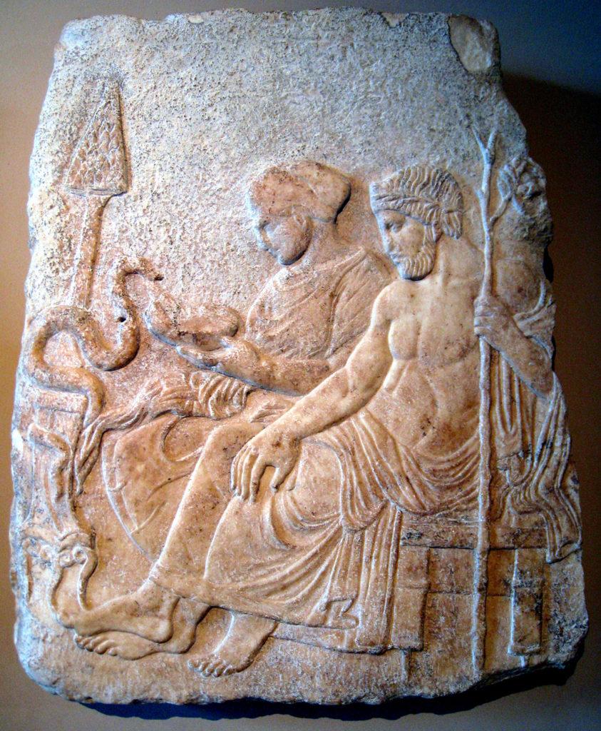 Asklepios and Hygeia