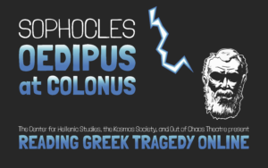 Reading Greek Tragedy Online Oedipus at Colonus
