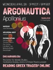 Reading Greek Tragedy Online Apollonius of Rhodes'Argonautica